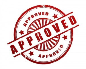 Getting vocational school approved, stamp